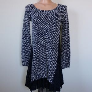 A' Reve Anthropology sweater & layered dress